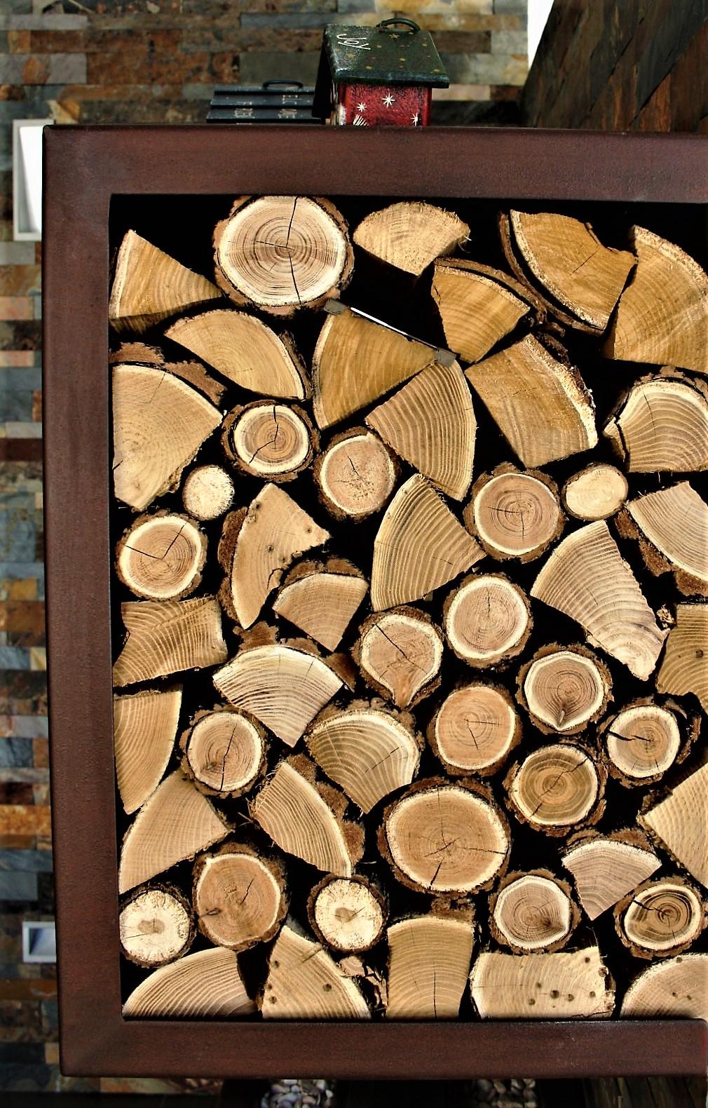Porta legna in corten battistolo