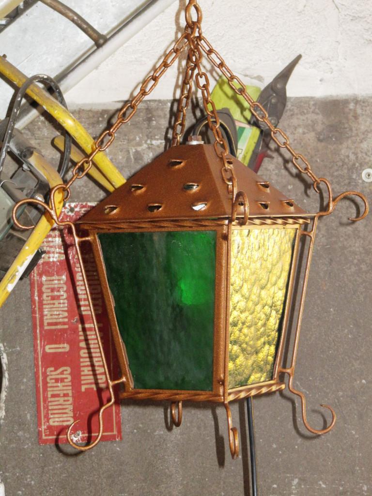 Lampada da esterno in ferro