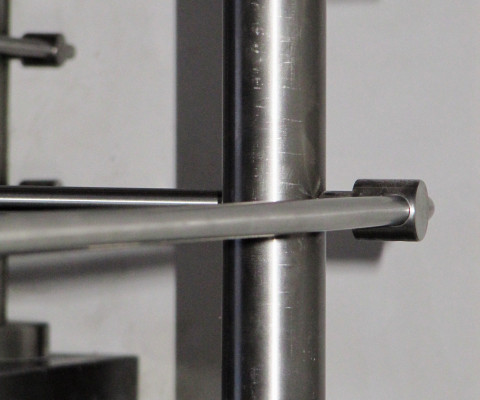 Ringhiera acciaio inox