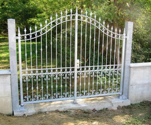 Cancello carraio in ferro zincato a caldo