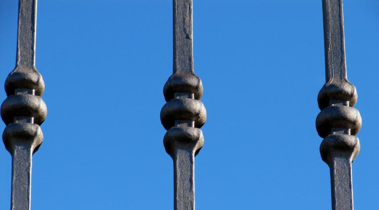 Ringhiera in ferro