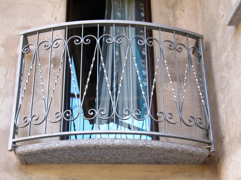 Ringhiera in ferro verniciato